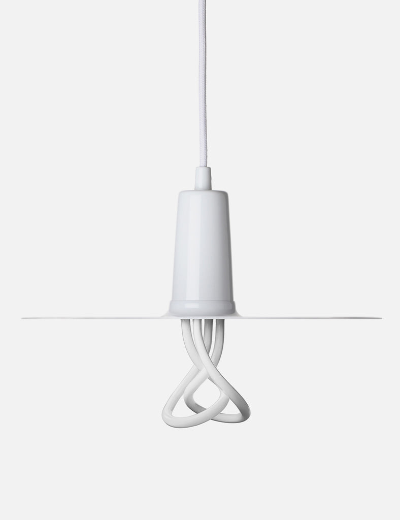 Drop Hat Lamp Shade Set with Baby Plumen 001 Bulb