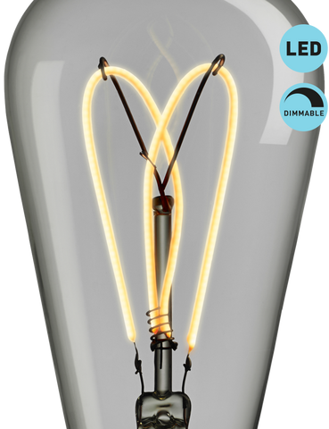 WHIRLY WILLIS - WARM WHITE LIGHT - DIMMABLE LED