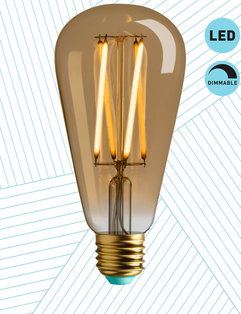 Plumen Pendant and Willis Dimmable LED Light Bulb