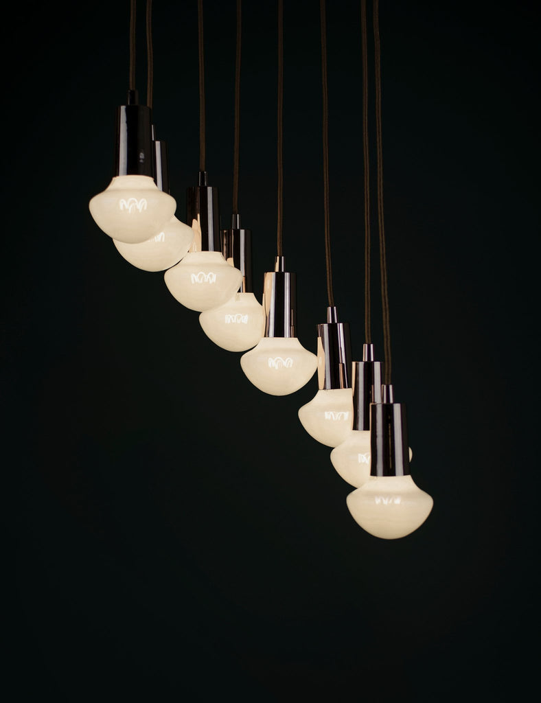 Plumen Pendant and Willow Milky 8 Pendant Set Multipack