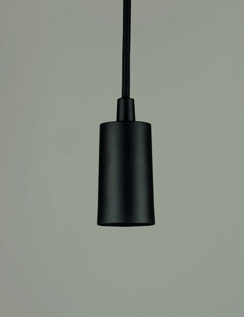 Plumen Pendant and WattNott Willis Gold Dimmable LED Light Bulb