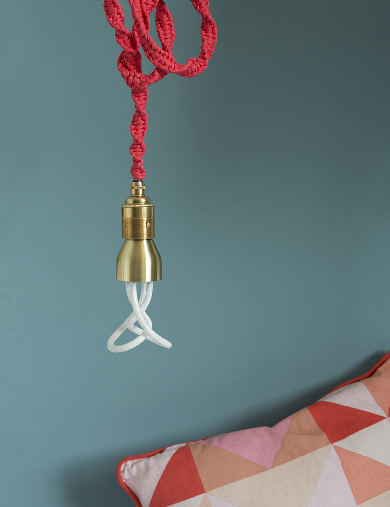 Gold Finish Lamp Holder By Factorylux