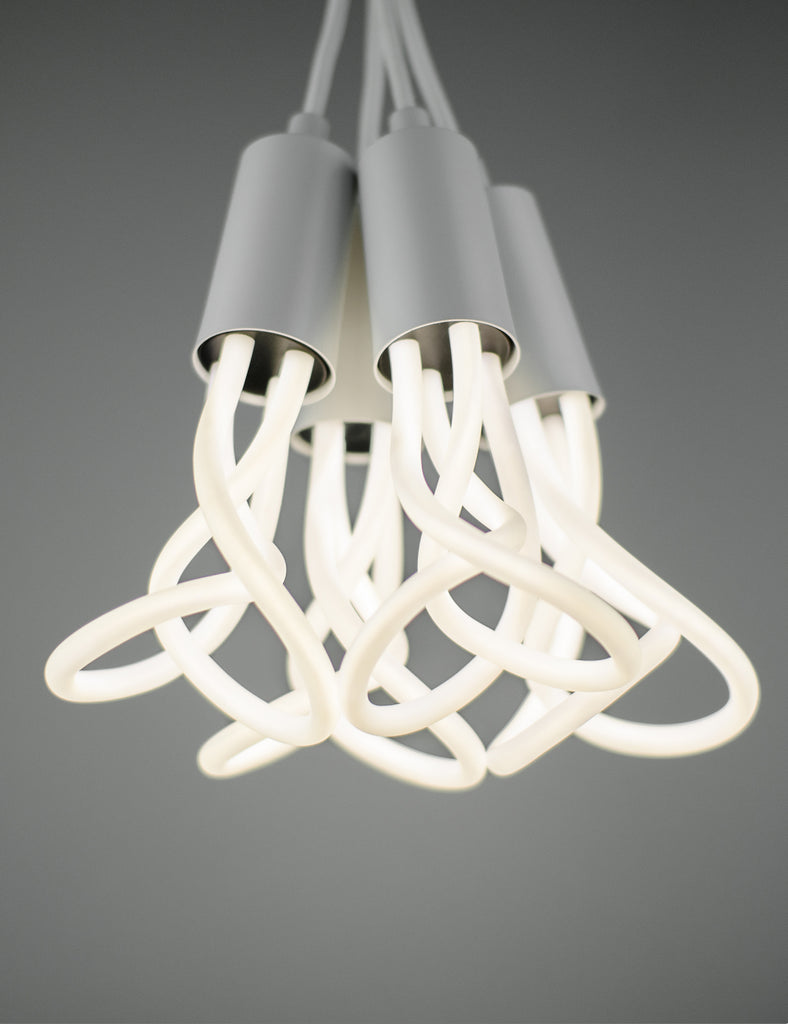 Plumen 001 LED 4 Pendant Chandelier Set