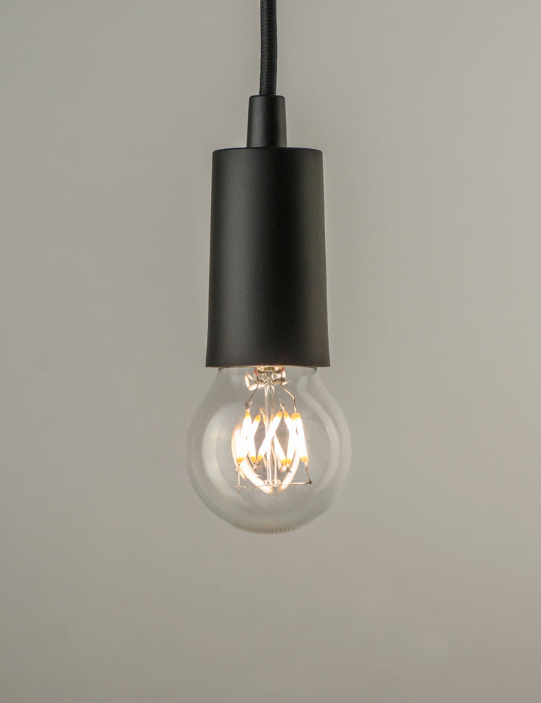Plumen Pendant and Wanda Dimmable LED Light Bulb