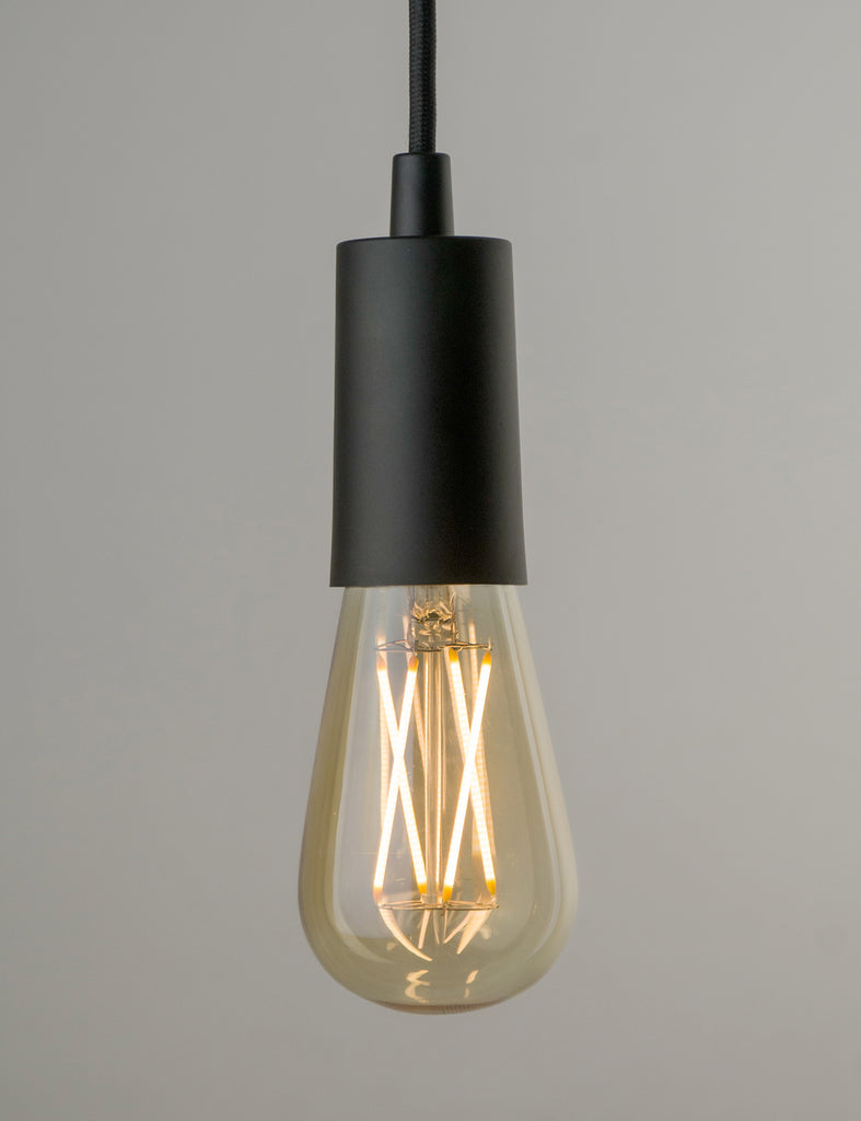 Plumen Pendant and Willis Gold Dimmable LED Light Bulb