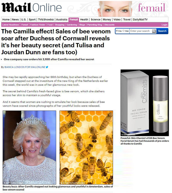 DAILYMAIL: 'The Camilla Effect' & voucher code!