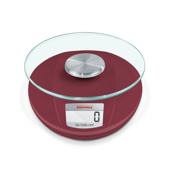 LEIFHEIT SOEHNLE Kitchen Scale Roma Ruby Red S65858
