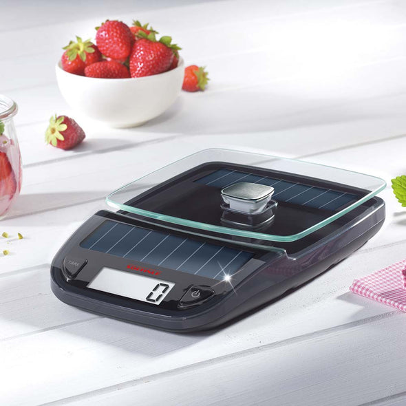 LEIFHEIT SOEHNLE Kitchen Scale Easy Solar Grey S66188