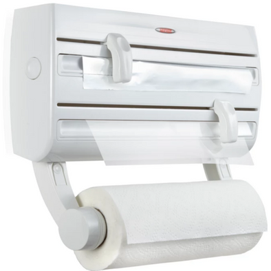 LEIFHEIT Wall Mounted Roll Holder Parat F2 (White) L25771