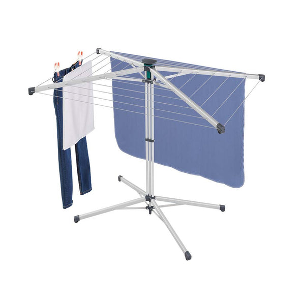 LEIFHEIT Standing Rotary Clothes Dryer LinoPop-Up 140 L82500