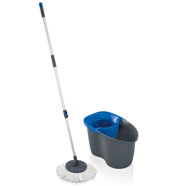 LEIFHEIT Set Rotation Disc Mop 60 Years Edition Blue L55268