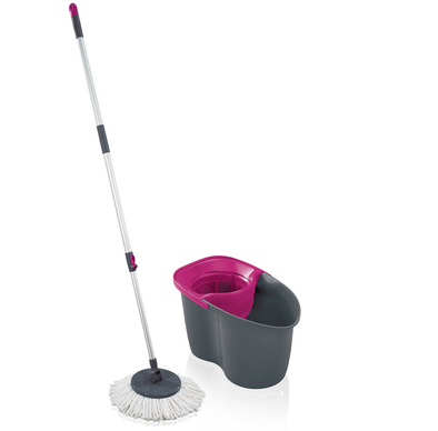 LEIFHEIT Set Rotation Disc Mop 60 Years Edition Pink L55267