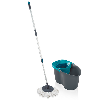 LEIFHEIT Set Rotation Disc Mop 60 Years Edition Lagoon L55269
