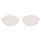 Ann Demeulemeester 62 C8 Cat Eye Sunglasses