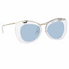 Dries Van Noten 193 C5 Cat Eye Sunglasses