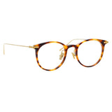 Linda Farrow Linear 03A C9 D-Frame Optical Frame
