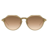 Linda Farrow Linear Wren C11 Angular Sunglasses