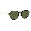 Linda Farrow Linear Wren C7 Angular Sunglasses