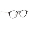 Linda Farrow Linear Arris C2 Oval Optical Frame