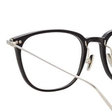 Linda Farrow Linear Wright A C2 Rectangular Optical Frame