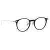 Linda Farrow Linear 08 C2 Oval Optical Frame