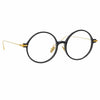 Linda Farrow Linear Savoye C1 Round Optical Frame