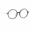 Linda Farrow Linear Savoye C2 Round Optical Frame