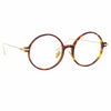 Linda Farrow Linear Savoye C3 Round Optical Frame