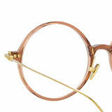 Linda Farrow Linear 09A C8 Round Optical Frame