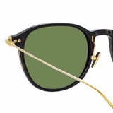 Linda Farrow Linear 16 C9 D-Frame Sunglasses