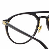 Linda Farrow Linear Ando C1 Aviator Optical Frame