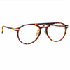 Linda Farrow Linear Ando C2 Aviator Optical Frame