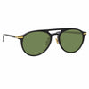 Linda Farrow Linear Ando A C5 Aviator Sunglasses