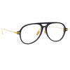 Linda Farrow Linear 24A C1 Aviator Optical Frame