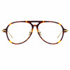 Linda Farrow Linear Gilles C1 Aviator Optical Frame