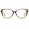 Linda Farrow Linear Arch A C1 Cat Eye Optical Frame