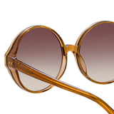Linda Farrow 657 C19 Oversized Sunglasses