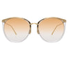 Linda Farrow 747 C15 Oversized Sunglasses