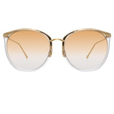 Linda Farrow Kings C15 Oversized Sunglasses