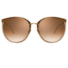 Linda Farrow Kings C20 Oversized Sunglasses