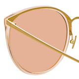 Linda Farrow 747 C21 Oversized Sunglasses
