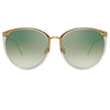 Linda Farrow 747 C22 Oversized Sunglasses