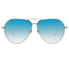 Linda Farrow 785 C7 Aviator Sunglasses