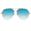 Linda Farrow Staveley C8 Aviator Sunglasses