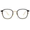 Linda Farrow 803 C5 Square Optical Frame