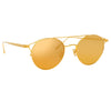 Linda Farrow Ali C1 Oval Sunglasses