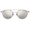 Linda Farrow 805 C2 Oval Sunglasses