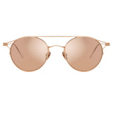 Linda Farrow 805 C3 Oval Sunglasses