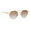 Linda Farrow 805 C5 Oval Sunglasses