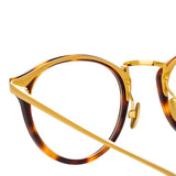 Linda Farrow Idriss C2 Oval Optical Frame